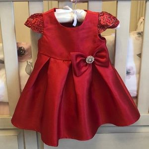 Beautiful Red 12Months Christmas Dress